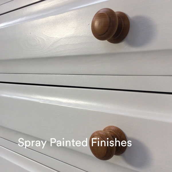 Spray Painted Finishes